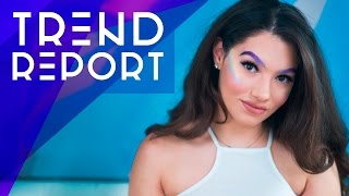 ☂ Trend Report: Rainbow Highlight, Metallic Lips, Colored Brows + More!