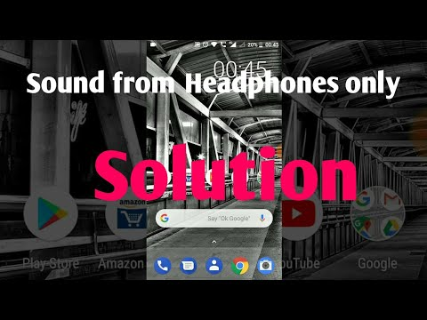 No sound problem solution for Nokia 6 and other Android phones