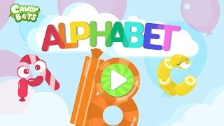 Candy ABC Alphabet Trailer (Candybots)  - Endless Learning A to Z English - Kids education apps
