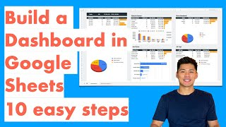 How to Create a Dashboard in Google Sheets (10 steps) - Query Formula