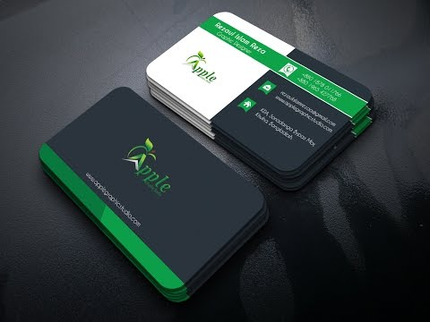 How to create a Nice Looking Business Card by Photoshop