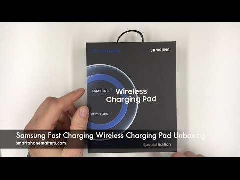 Samsung Fast Charging Wireless Charging Pad Unboxing