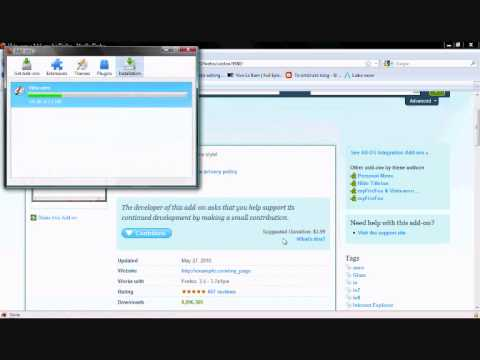 How to change mozilla firefox theme!!(Very easy)