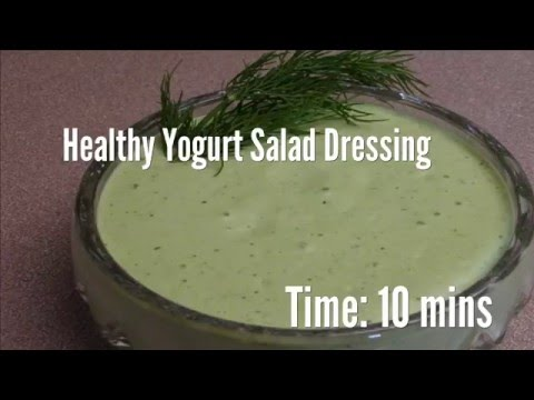 Healthy Yogurt Salad Dressing Recipe