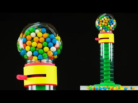 DIY Amazing Spiral Gumball Machine from Cardboard at Home