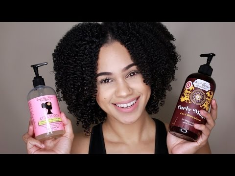 Natural Hair   Camille Rose Naturals Curl Maker vs. Uncle Funky's Daughter Curly Magic