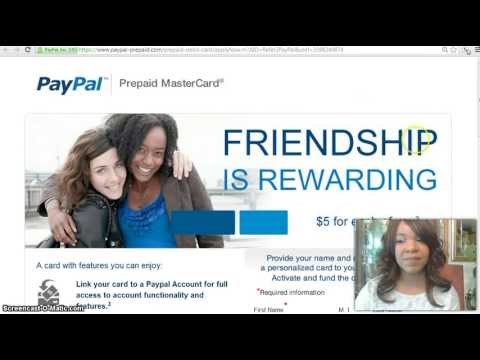 How To Order/Activate - PayPal PrePaid Mastercard