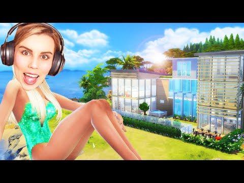 MY DREAM BEACH HOUSE!!  The Sims 4 House Building