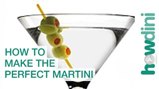 How to make the perfect martini - Martini recipe  Martinis are always cool, whether shaken or stirred. Mixologist Allen Katz shows you how to mix a mean martini, making the perfect cocktail.  Check out Howdini.com for more.