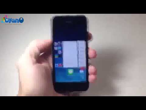 IOS 7 How to force close one or multiple running background apps Iphone 5 5s 4 4s 5c ios7