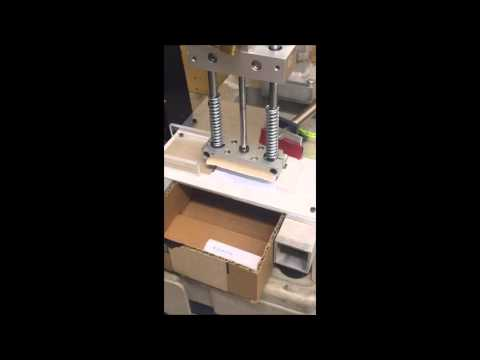 Pneumatic Braille Stamping Machine for Business Cards