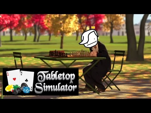 PLAYING CHESS... ALONE | Tabletop Simulator