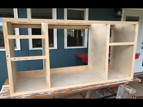 Making Kitchen Cabinets Part 2 - Face Frame