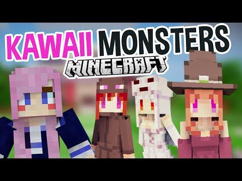 Kawaii Monsters | Super Cute Minecraft Mod