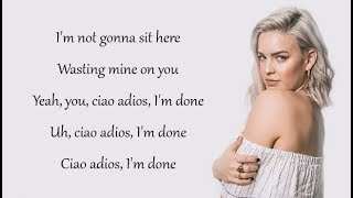 Download Anne-Marie - CIAO ADIOS (Lyrics)