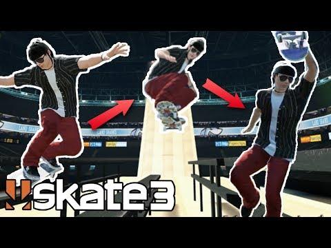 Skate 3: EPIC TRICK-LINE CHALLENGE?! #1