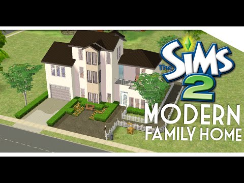 The Sims 2: Speed Build | Modern Family Home