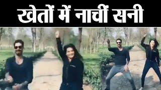 Sunny Leone Dances With Husband Daniel Weber On Ranveer Singhs Aankh Marey Watch Video  Boldsky