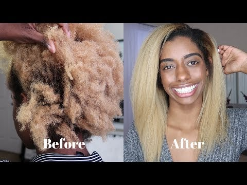 How To Flat Iron 4c Hair Silky Striaght
