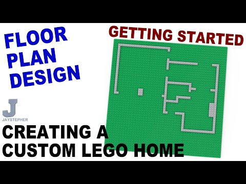 Creating A Custom LEGO Home - Getting Started Howto Tutorial