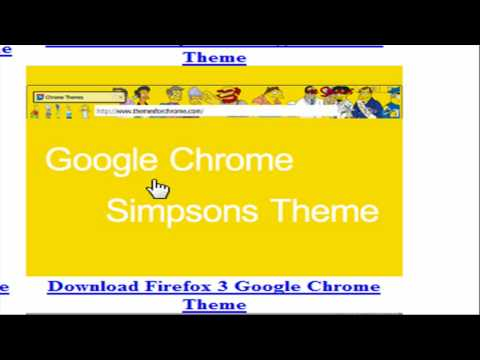 Free Google Chrome themes!