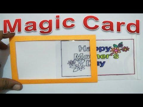 (DIY Magic Card) Mother's Day Card from Old Wedding Cards   #TukkuTV