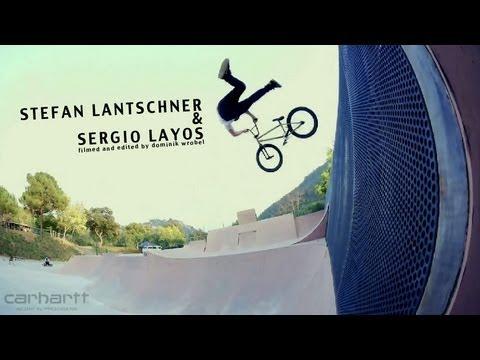 Stefan Lantschner & Sergio Layos - BMX Video