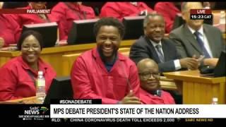 WATCH | Mbuyiseni Ndlozi mocks DA MP