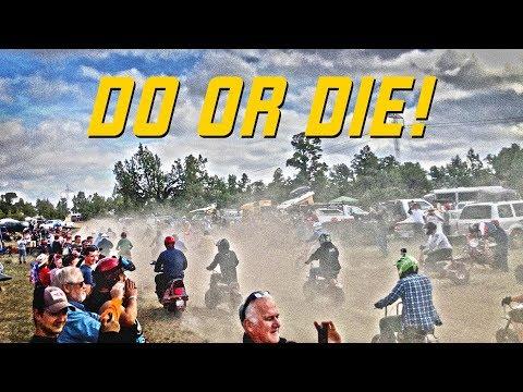DO OR DIE: Surviving the Gambler 100 Mini Bike Race!