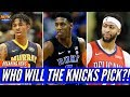 New York Knicks Fans Reaction To The NBA Draft Lottery Will It Be RJ Barrett Or Trade For AD