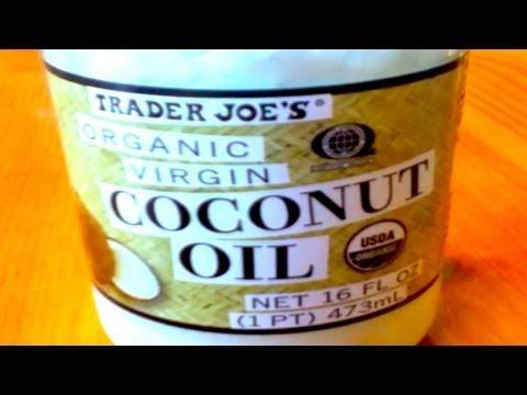 Trader Joe's Organic Virgin Coconut Oil Review!