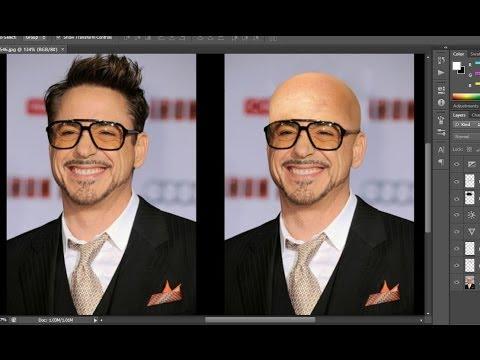 photoshop tutorial # make someone bald