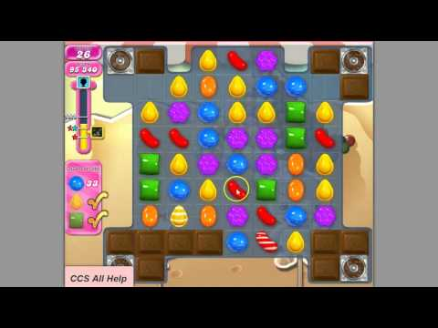 Candy Crush Saga Level 165 by Cookie.