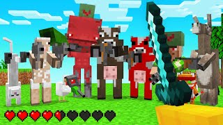 EVERY ANIMAL Has WEAPONS In Minecraft!