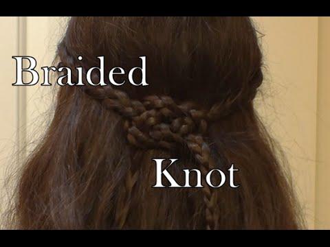 Braided Celtic Knot Hair Tutorial