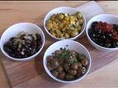 How To Make Four Types Of Marinated Olives