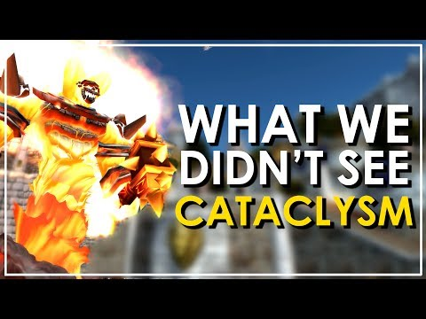 The Cut Content of Cataclysm That We Haven't Seen