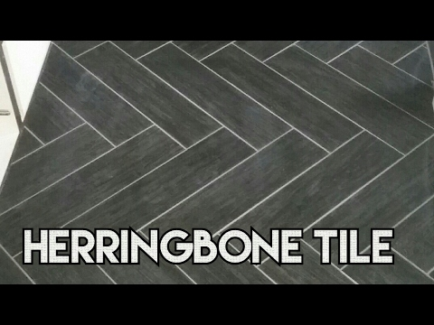 HERRINGBONE  WOOD TILE PLANK 6X18 TILE FLOOR