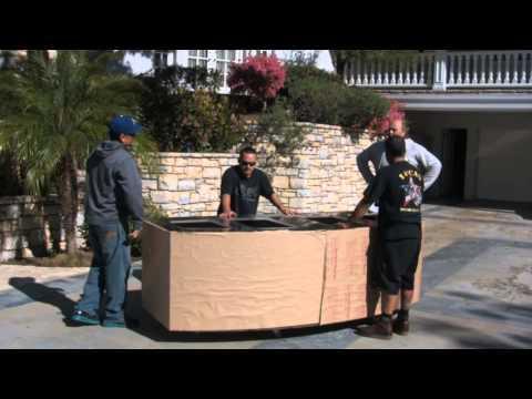 Building a 400 gallon Bowfront Aquarium, LA Fishguys, Episode 115 pt 1