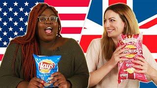 Download American & British People Swap Snacks Video