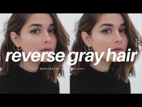 Reverse Gray Hair Fast & Naturally Subliminal | Anti Aging Formula!