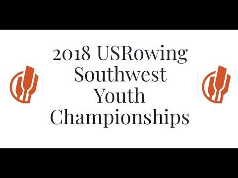 2018 Southwest Youth Rowing Championships. Sunday
