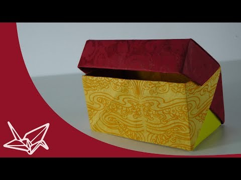 Box with Lid Origami instructions