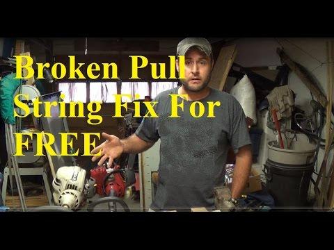 Ryobi ss230 pull cord repair