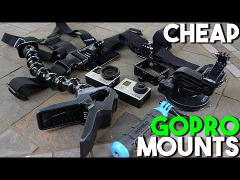 How to Get Cheap GoPro Mounts