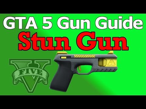GTA 5 Gun Guide Stun Gun (Review, Stats, & How To Unlock)
