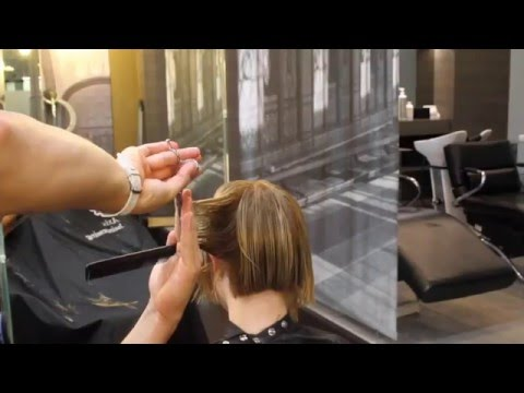 From Long to Short Asymmetrical Bob Cut - By Adam Ciaccia