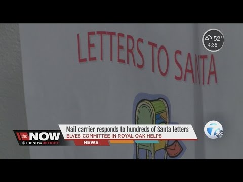 Letters to Santa get responses