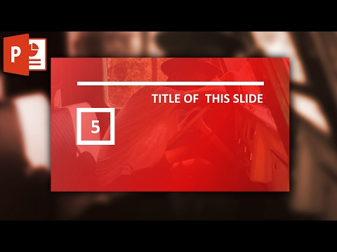 How to design a gradient slide in powerpoint ✔