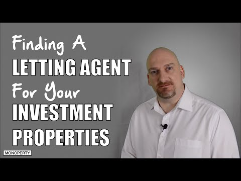 Property Management | Finding A Letting Agent For Your Buy To Let | Real Estate Investing Tips